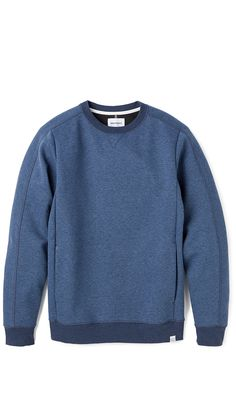 Norse Projects Sander Bonded Neoprene Sweatshirt