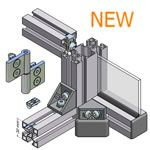 MiniTec T-Slotted Aluminum Extrusions. Modular Aluminum Profiles For Custom Construction From Aluminum Extrusions. Custom Clean Rooms, Ergon...