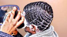 How to Wash 360 Waves Black Men Haircuts, Black Men Hairstyles, Hairstyles Haircuts, Waves Hairstyle Men, Waves Haircut, Curly Hair Men, Curly Hair Styles, Natural Hair Styles, Short Hair