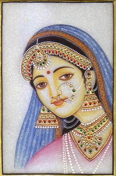 Discover thousands of images about Rajasthani Painting, Rajasthani Art, Rajasthani Miniature Paintings, Art Sketches, Art Drawings, Indian Folk Art, Indian Artist, Krishna Art, Krishna Leela