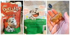 Fresh Pet Dog Joy Ready to Bake Cookies #Freshpet #FreshpetDogFood #FreshpetReviews