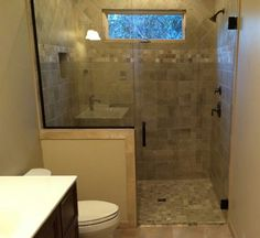 Clean and simple. #frameless #brittandtilson #oilrubbedbronze #glass #shower #showerenclosure #remodel #Asheville #wnc #bathroom