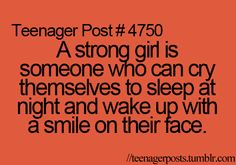<3. i must be a really strong girl then.