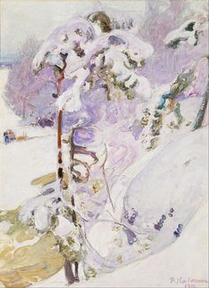 The Athenaeum - Early Spring (Pekka Halonen - )