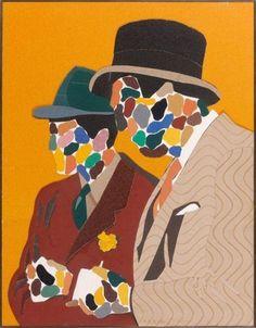 Parmi Les Peintres Eduardo Arroyo Date: 1975 Style: Pop Art Genre: portrait