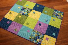 Quilting is more fun than Housework...: A Pretty Finish