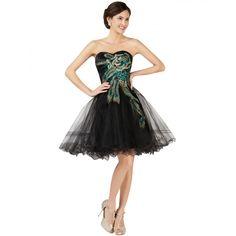 Čierne spoločenské šaty CL007541