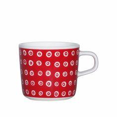 Marimekko Karakola Red Coffee Cup