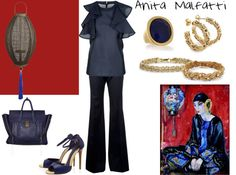 """Anita Malfatti."" by ana-cris on Polyvore"