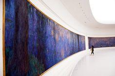 Musee de L'Orangerie, Monet's Waterlillies, via Hogger & Co., Paris