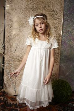 Charming Champagne Double Layered Flowergirl Dress | Summer ...