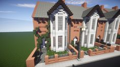 Small British Georgian House Minecraft Project