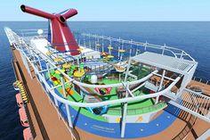 Ein breites Freizeitangebot steht Passagieren auf der Carnival Vista zur…