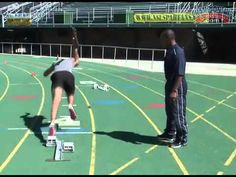 Starting Techniques for Better Times in the 400 Meter Dash - YouTube