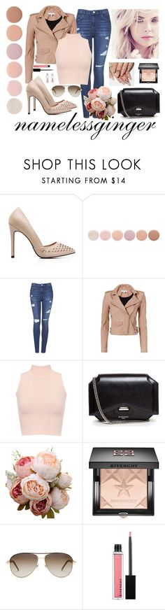 """""""untitled #511"""" by namelessginger ❤ liked on Polyvore featuring Deborah Lippmann, Topshop, IRO, WearAll, Givenchy, Gucci and Antica Murrina"""