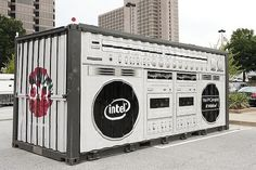 Battery storage can combine with urban art