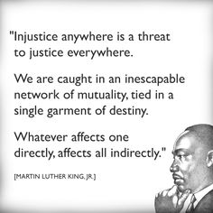 Quote from Martin Luther King, Jr.'s Letter from a Birmingham Jail