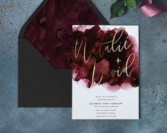Wedding invite – Invitation Ideas for 2020 Blush Wedding Invitations, Rustic Invitations, Wedding Stationary, Invitation Design, Invitation Wording, Party Invitations, Wedding Quotes, Wedding Cards, Our Wedding