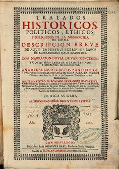 Tratados historicos, politicos, ethicos y religiosos de la monarchia de ... - Domingo Fernandez Navarrete - Google Books