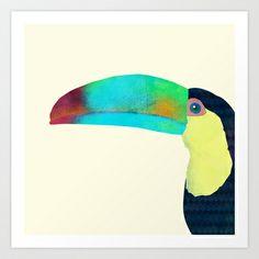 Toucan Art Print by Eric Fan - $18.00