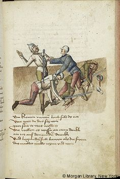 Literary, MS M.763 fol. 136r - Images from Medieval and Renaissance Manuscripts - The Morgan Library & Museum
