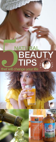 The Global Girl Beauty: Ndoema shares 5 simple natural beauty tips that will change your life (from effortless weight loss to natural head-to-toe glow).