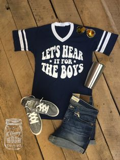 Let's Hear It For The Boys tee