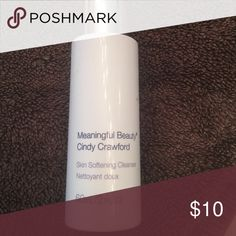 Meaningful beauty skin softening cleanser Brand new cindy crawford meaningful beauty Makeup