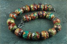 polymer clay beads | ... happened to have a good sized stash of polymer clay beads that