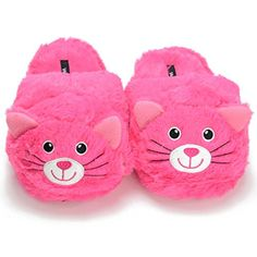cute cat slippers for women - Women's Cozy Slip On Pink Animal Cat House Indoor Slippers (Medium (US Women's * Continue to the product at the image link. (This is an affiliate link) Heated Slippers, Looks Kawaii, Discount Designer Shoes, Bedroom Slippers, Cute Slippers, Girls Slip, Pink Animals, Pink Cat, Fur Boots