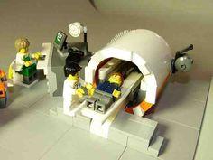 Resonancia Magnética según Lego