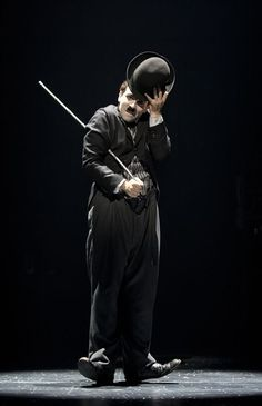 Rob McClure as Charlie Chaplin in #CHAPLIN THE #MUSICAL (Photo: Joan Marcus)