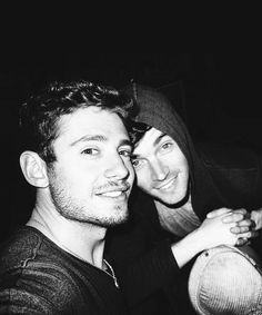 Julian Morris & Ian Harding| ok, so actually these two might be the handsomest men alive