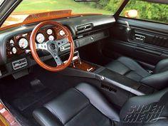 2nd Generation Camaro Interior