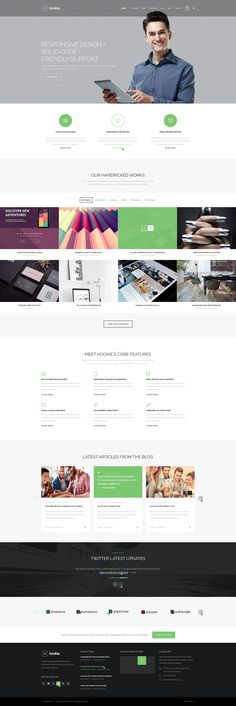 HG Restaurant PSD Template (Restaurants & Cafes)