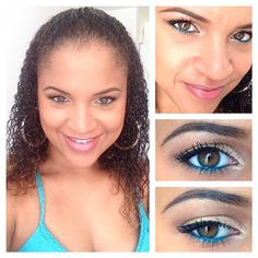 Make-Up du jour ☀️ #MU #MUOTD #Beauty #Color #ColorfulMakeUp #MUA #Blogger #MakeUp