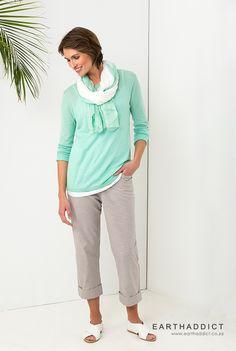 EARTHADDICT SS'15  www.earthaddict.co.za Ss 15, Capri Pants, Women's Fashion, Style Inspiration, Mom, Closet, Capri Trousers, Fashion Women, Armoire