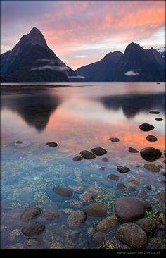 Milford Sound, New Zealand by Adam Burton