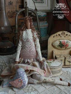 Handmade Tilda Doll Carla by Annysdolls on Etsy