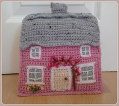 Ravelry: The Pink Cottage crochet doorstop pattern by linda Mary