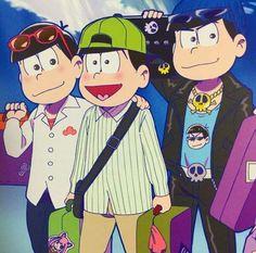Osomatsu, Choromatsu & Karamatsu