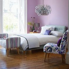 21 Bedroom Paint Color Combinations For Latest Trends Lilac Color Paint Bedroom For Teen With Laminate Wood Flooring Design And Chairs