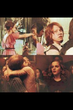 #Romione BUT NO DO YOU REALIZE THAT RON AND HERMIONE FELL IN LOVE IN THEIR FOURTH YEAR BUT THEY DIDNT RECOGNIZE IT UNTIL THEYRE ABOUT TO DIE IN THEIR SIXTH YEAR THIS IS AMAZING