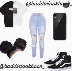 Summer Swag Outfits, Swag Outfits For Girls, Teenage Girl Outfits, Cute Swag Outfits, Teenager Outfits, Retro Outfits, Stylish Outfits, Rock Outfits, Winter Outfits