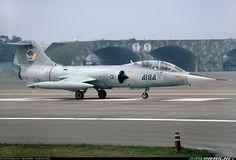 Taiwan Air Force, Lockheed TF-104G Starfighter in Hsinchu (RCPO, 03/07/1994); written off on 08/11/1996.