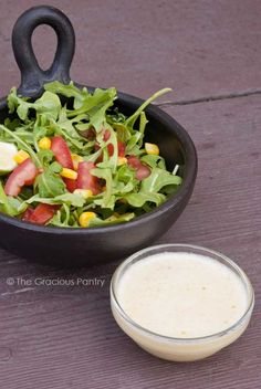 Clean Eating Honey Lime Vinaigrette | the gracious pantry