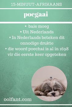 In Nederland ons sê poehaai vir onnodige druk