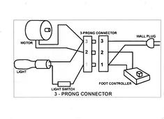 singer 15 91 wiring diagram google search antique sewing generic wiring diagram for the motor light power cord and controller