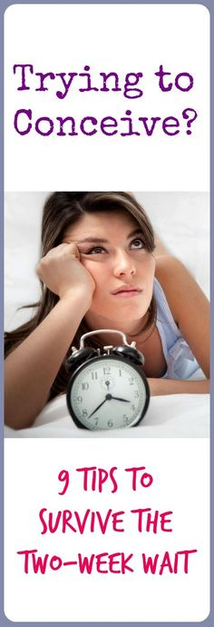 help for those trying to conceive and surviving that 2-week wait. . . from @fitbottomedgirl