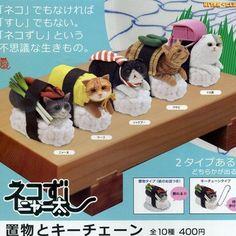 "Kitan Club - Nekozushi 1.5"" Sushi Cat (Blind Box) – Collect and Display"